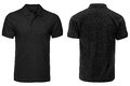 Black Polo shirt, clothes Royalty Free Stock Photo