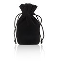 Black pouch Royalty Free Stock Photo