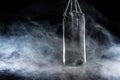 Image : Black punching bag