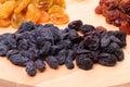 Black raisins Royalty Free Stock Photo