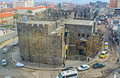 The black rampart diyarbakir turkey january old town is surrounded by basalt with numerous towers on january in diyarbakır Stock Images