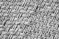 Black rattan texture Royalty Free Stock Image