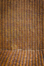 Black rattan wood texture Stock Image