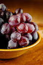 Black and Red Grapes Royalty Free Stock Image