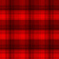 Black and red tartan plaid background Royalty Free Stock Photo