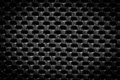 Black regular texture for background Royalty Free Stock Image