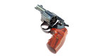 Black revolver gun Royalty Free Stock Image