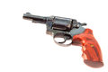 Black revolver gun Royalty Free Stock Photos