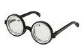 Black-rimmed glasses Royalty Free Stock Photography