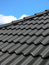 Black roof Stock Images