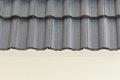 Black roof tiles Royalty Free Stock Photo