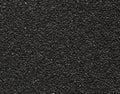 Black sandpaper texture macro Royalty Free Stock Photo