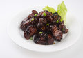 Black sauce pork malaysia food Royalty Free Stock Photography