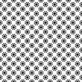 Black scratched blotch seamless pattern background vector illustration Royalty Free Stock Image