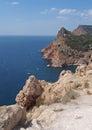 Black sea coast near balaklava crimea ukraine rocks and bay Stock Photo