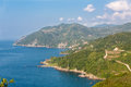 Black Sea Shores of Turkey Stock Image