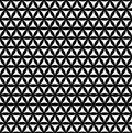 Black seamless flower of life pattern - sacred geometry background - most magical pattern on the world Royalty Free Stock Photo
