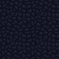 Black seamless leather texture Royalty Free Stock Photo