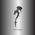 Black Shadow Dragon Logo