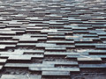Black slate wall tile Background Architecture detail Royalty Free Stock Photo