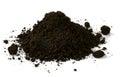 Black soil Royalty Free Stock Photo