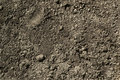 Black Soil Dirt Background Texture, Natural Pattern Royalty Free Stock Photo