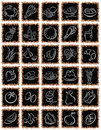 Black squares.ai Stock Photo