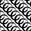 Black Stains seamless pattern. on white background.