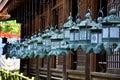 Black Steel Lanterns Hanging A...