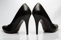 Black stiletto High Heels Shoe Royalty Free Stock Photo