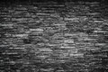 Black stone wall grunge backgrouund Royalty Free Stock Photography