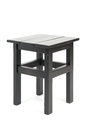 Black stool isolated