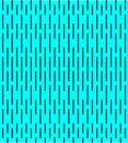 Black strokes on blue background, seamless pattern