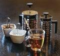 Black tea. Stock Photos
