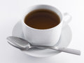 Black Tea Cup Royalty Free Stock Photo