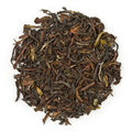 Black tea darjeeling organic raw blend isolated on pure white Stock Images
