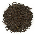 Black tea earl grey bergamot raw blend isolated on pure white Royalty Free Stock Photos