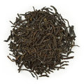 Black tea earl grey blend raw isolated on pure white Royalty Free Stock Image