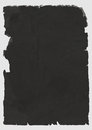 Black torn paper Stock Photo