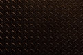 Black traction plate background Royalty Free Stock Photo
