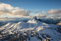 Black Tusk Mountain Peak Aerial Royalty Free Stock Photo