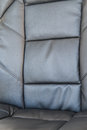Black upholstery Royalty Free Stock Photography
