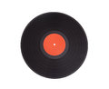 Black vinyl record lp album disc Royalty Free Stock Photo