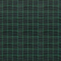 Black Watch Plaid Fabric Background Royalty Free Stock Image