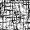 Black and white abstract background with intersecting grunge stripes