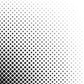 Black and white abstract square pattern background - monochrome geometrical vector design from diagonal squares