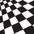 Black and white checker Stock Photography