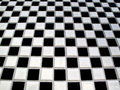 Black and white checkerboard Stock Image