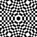 Black White Checkerboard Backg...
