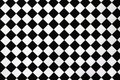Black And White Checkerboard Cloth Stock Photography